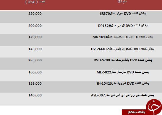 خرید یک پخش کننده DVD چقدر تمام می شود؟