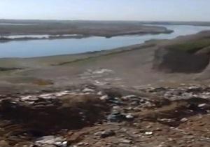 دپوی زباله در حاشیه رود دز + فیلم