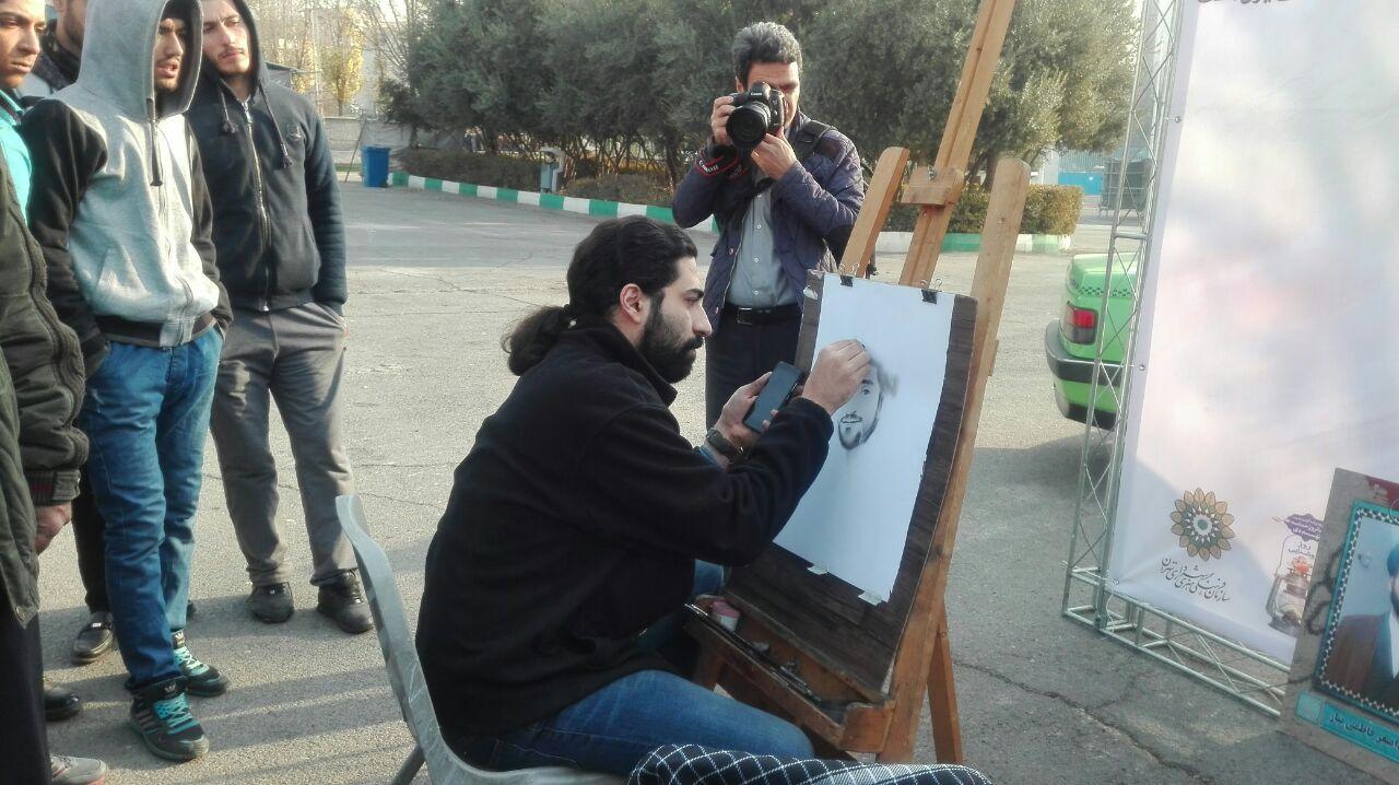 حاشیه های بزرگداشت حماسه 9 دی در مصلی تهران+ تصاویر