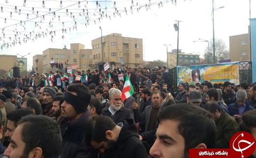حضور پر شور مردم سراسر کشور در حماسه 9 دی+تصاویر