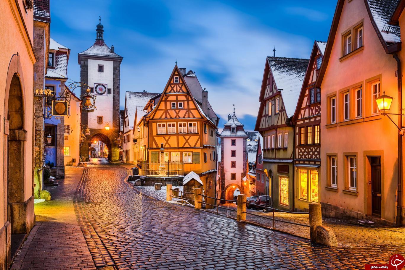 هفت شهر مخفی قدیمی اروپا که زمستان زیبایی دارند+ تصاویر