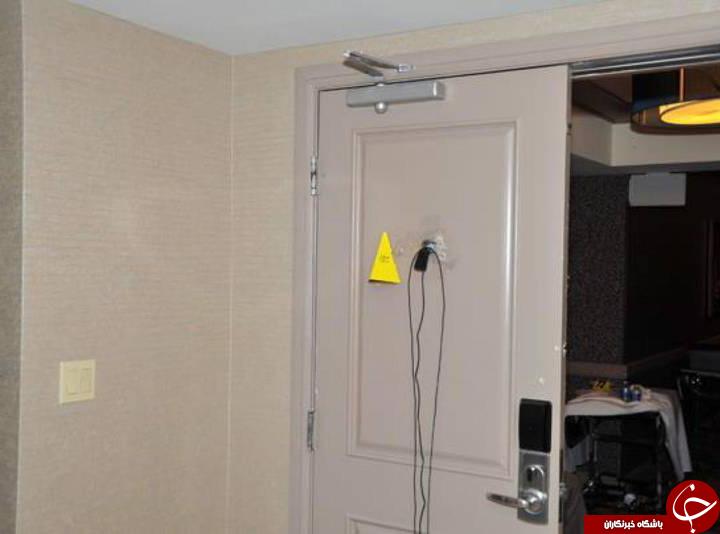تصاویری از اتاق یک «قاتل»