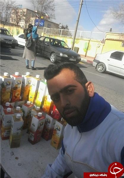 ماجرای نخبه کردستانی که دستفروش شد! +تصاویر
