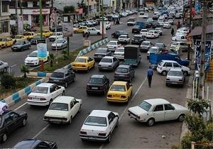 احتمال ریزش در برخی از خیابانهای کرمانشاه