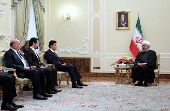 ایران از عراق متحد و یکپارچه حمایت می کند/ قدرت های خارج از منطقه، دلسوز مردم نبوده و نخواهند بود