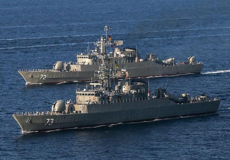 اعزام پنجاهمین ناوگروه نیروی دریایی ارتش به آبهای آزاد