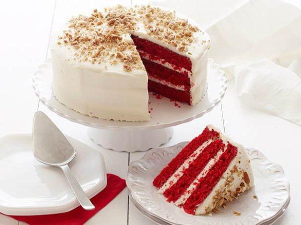 طرز تهیه کیک قرمز مخملی خوشمزه
