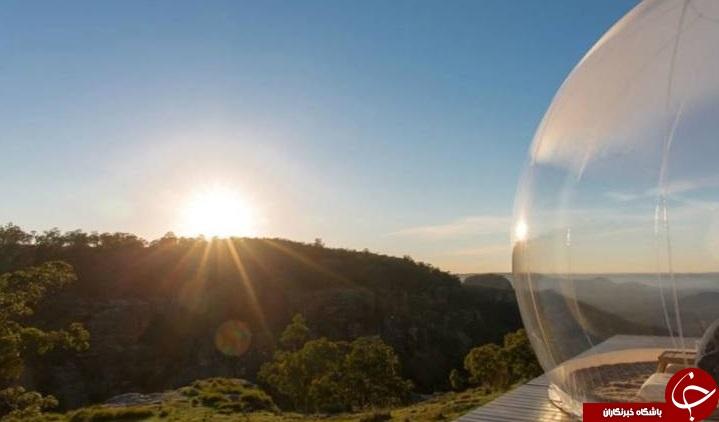 چادر حبابی شفاف+عکس