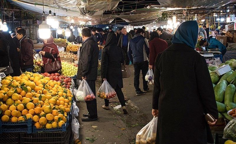 وضع بازار میوه تره بار در آستانه نوروز/ میوه شب عید ۹۷ با طعم گرانی؟!
