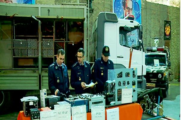 نمایشگاه توانمندی های نیروی هوایی در تبریزگشایش یافت