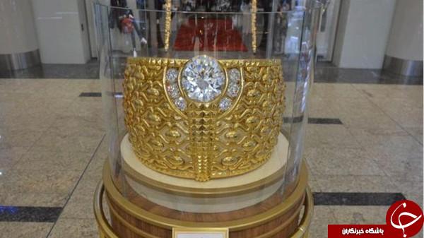بزرگترین حلقه طلای جهان در امارات+عکس