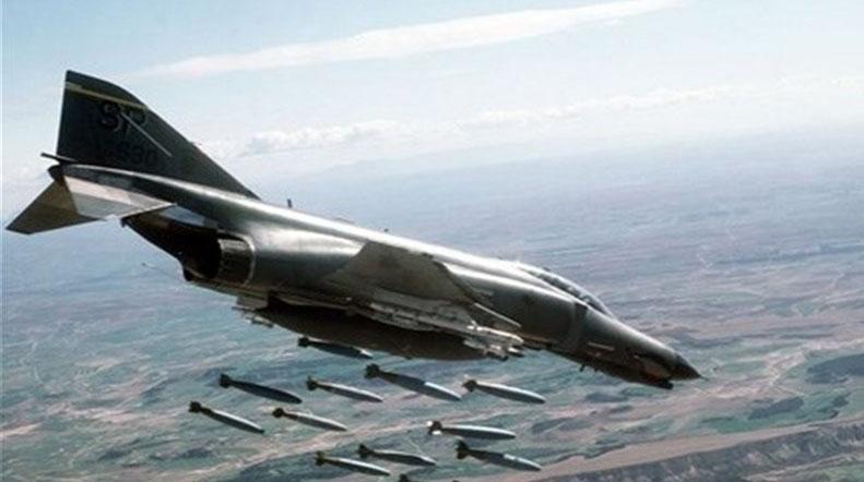 بمباران شرق صنعا توسط جنگندههای عربستانی