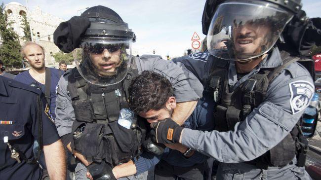 ۱۰۰۰ فلسطینی در قدس از زمان اقدام ترامپ علیه این شهر بازداشت شدند
