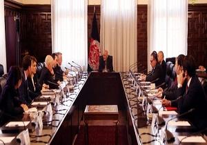 دیدار معاون وزیر امور خارجه آمریکا با مقامات افغانستان در کابل