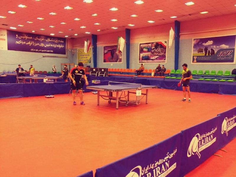 آغاز مسابقات انتخابی تیم ملی تنیس روی میز