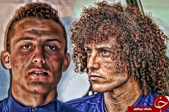 موقشنگ های دنیای فوتبال قبل از تغییر ظاهر! +تصاویر
