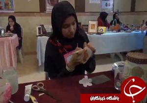 برپایی بازارچه خیریه دانش آموزی در قزوین