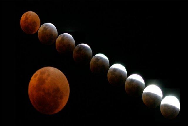 آخرین جزئیات از پدیده ماه گرفتگی امشب در آسمان ایران