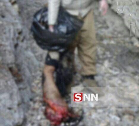 اولین تصاویر اجساد داعش در غرب کشور