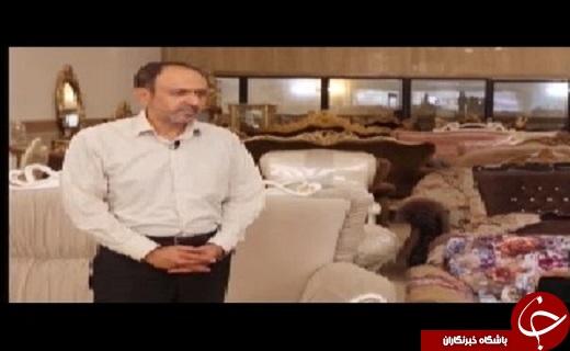 هنر دست منبت کاران قمی در صنعت مبلمان کشور خود نمایی می کند