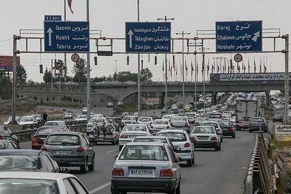 ترافیک نیمه سنگین در آزادراه تهران-کرج/ محور شمشک-دیزین تا اطلاع ثانوی مسدود است