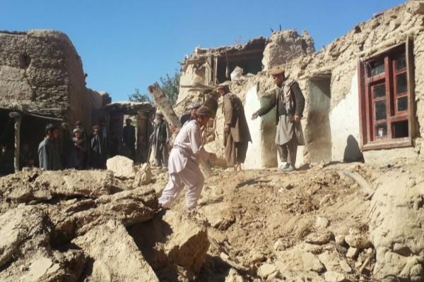 زلزله  6/1 ریشتر بدخشان افغانستان 3 زخمی بر جای گذاشت