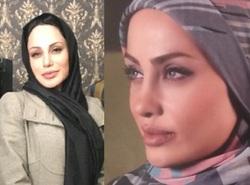 شباهت عجیب بازیگر یک فیلم ایرانی به آنجلینا جولی!
