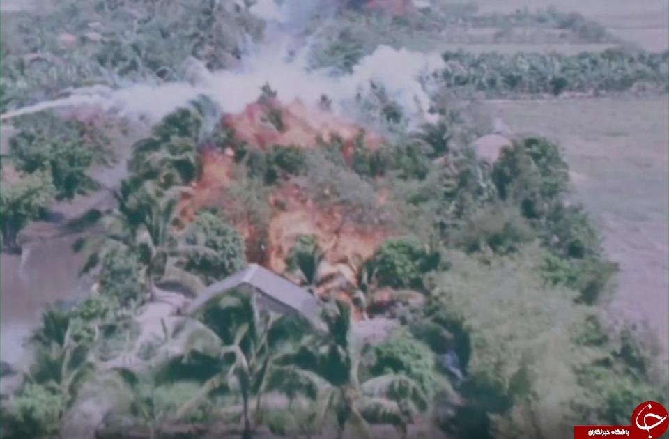 تصاویر  کمتر دیده شده  از جنگ ویتنام