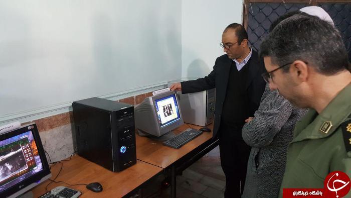 افتتاح نمایشگاه شکوه انقلاب در سردشت