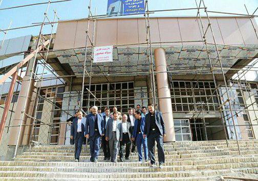 فاز اول کتابخانه مرکزی خرمآباد خرداد ۹۷ افتتاح می شود