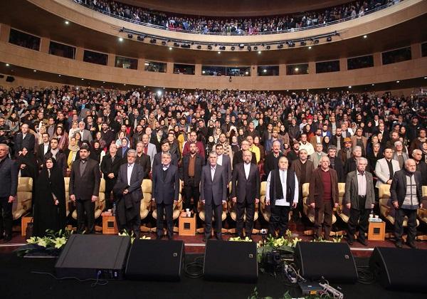 مراسم افتتاحیه جشنواره فیلم فجر آغاز شد