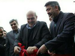 افتتاح  دو طرح تولیدی در شهرک صنعتی سپیدرود رشت