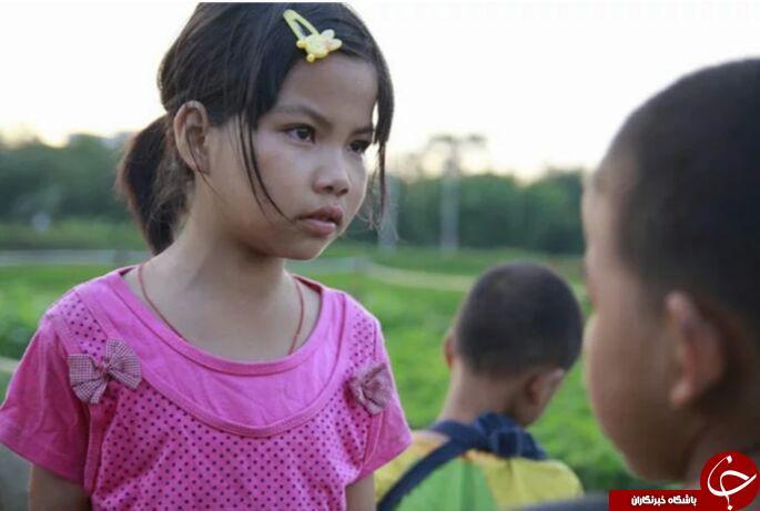 دختر 10 ساله ای که قهرمان یک زندگی  است + تصاویر