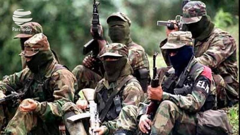 کشته شدن سه نفر بر اثر بمباران اردوگاه شبهنظامیان در کلمبیا