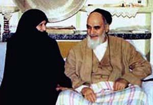 شوخی جالب همسر امام خمینی(ره) قبل از دستگیری سال 42