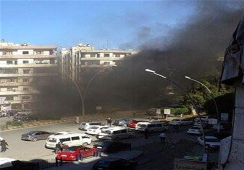 ۲۴ کشته و زخمی بر اثر حملات خمپارهای تروریستها به دمشق