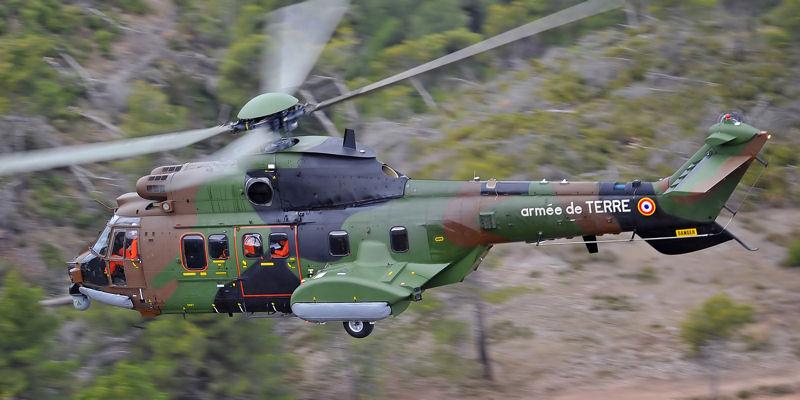 ۵ کشته در حادثه برخورد دو فروند بالگرد ارتش فرانسه