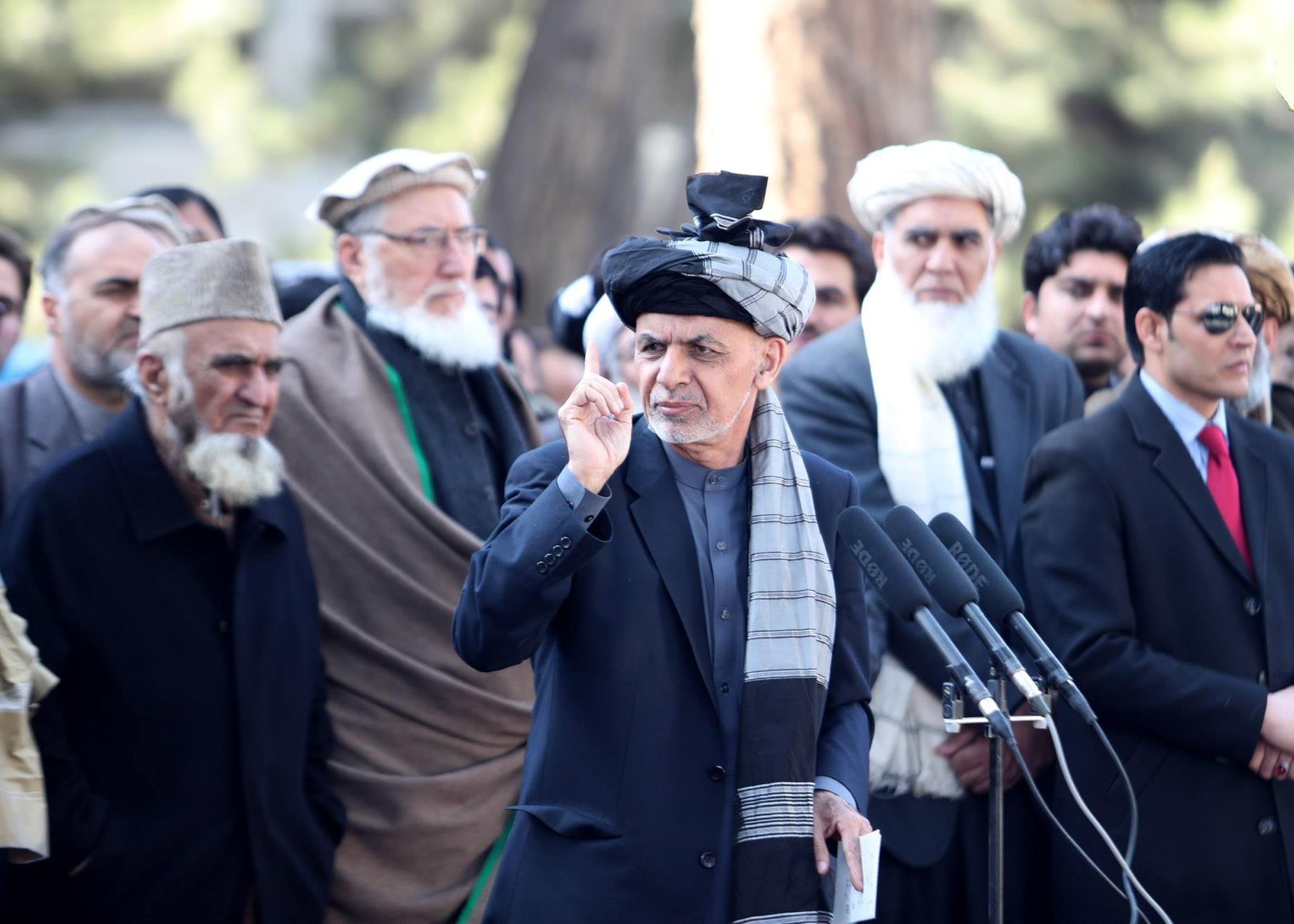 اشرف غنی: مرکز طالبان در پاکستان است/ امنیت افغانستان معامله سیاسی نمی شود