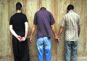 دستگیری سه سارق در پیرانشهر