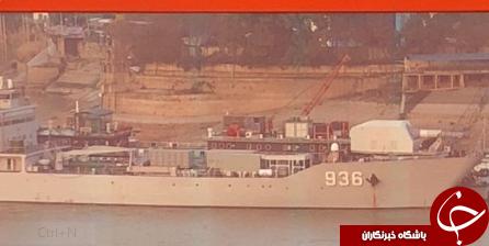 چین یک سلاح ریلی الکترومغناطیس را روی یک کشتی جنگی نصب کرد+ تصاویر