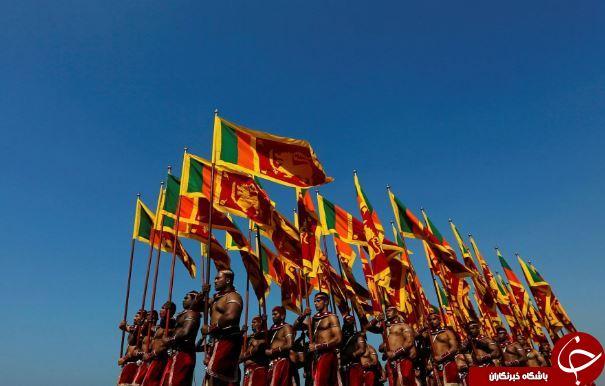 تصاویر روز: از مجروح شدن ورزشکار کره شمالی در کره جنوبی تا رژه سربازان ارتش سری لانکا