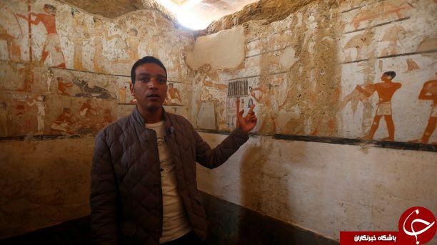 کشف آرامگاه 4400 ساله در حومه قاهره+تصاویر