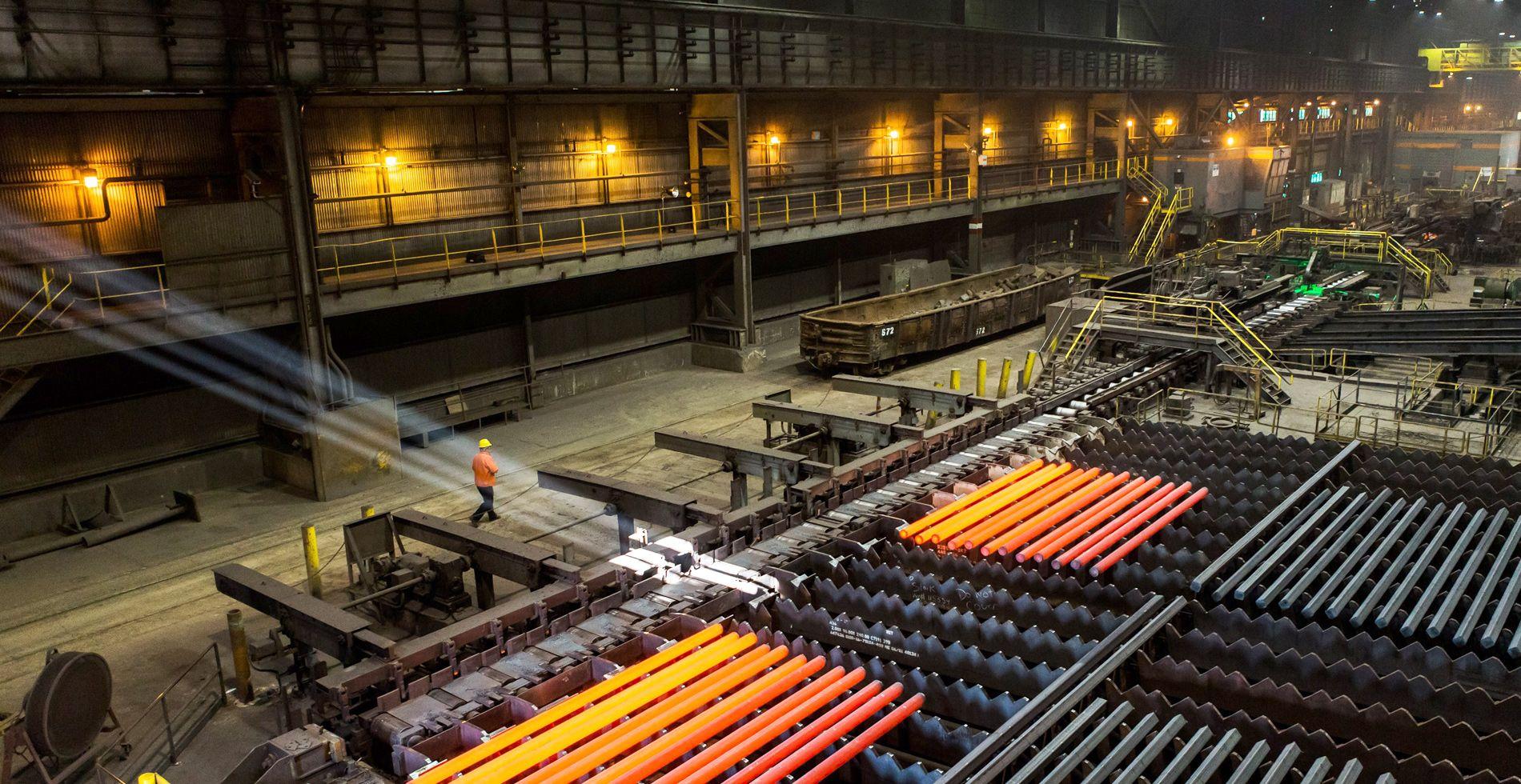 کاهش مصرف آب و انرژی فولادیها در گرو بروز کردن تکنولوژی است
