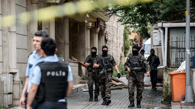 بازداشت 82 عنصر تروریستی در عملیات غافلگیرانه پلیس ترکیه