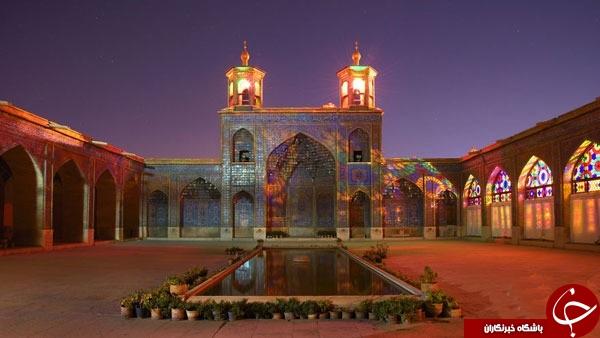 مسجدی با دنیایی از رنگ و زیبایی + عکس