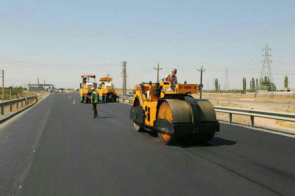  افتتاح پروژه آسفالت معابر روستای باب شگفت