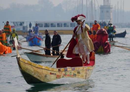 برگزاری کارناوال ونیز با قدمت ۱۰۰۰ سال+تصاویر