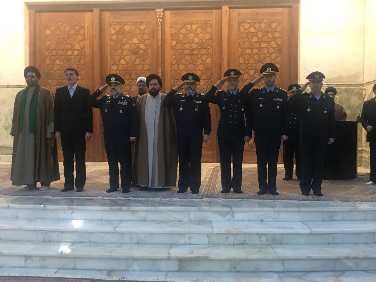 فرماندهان نیروی هوایی ارتش با آرمانهای امام خمینی(ره) تجدید پیمان کردند