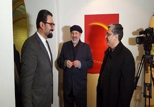 باشگاه خبرنگاران -بخش مفاخر جشنواره دهم تجسمی فجر كليد خورد