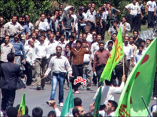 حمله اعضای فرقه گنابادی به یک معلم و مجروح کردن وی +فیلم و عکس